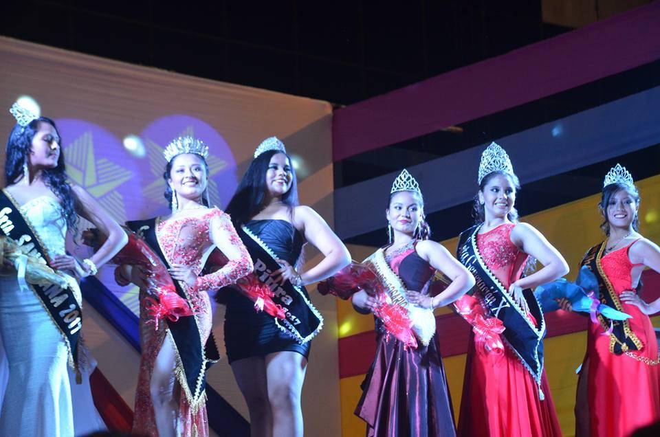 Candidatas a Srta Carnaval Cajabamba 2017