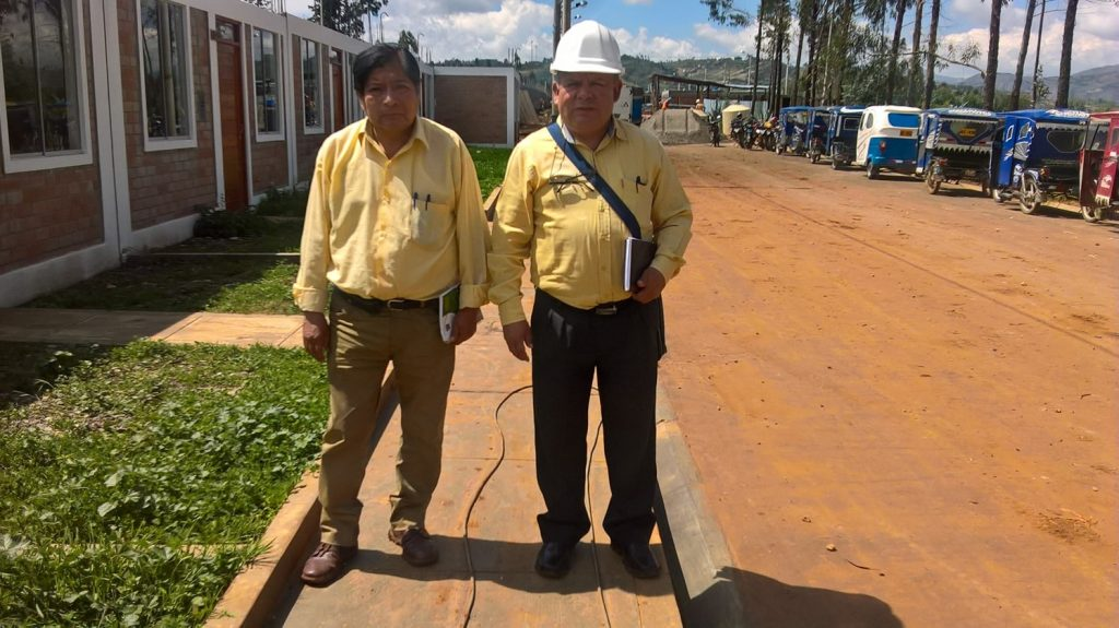 Coordinador FREDDEC y suprefecto cajabamba