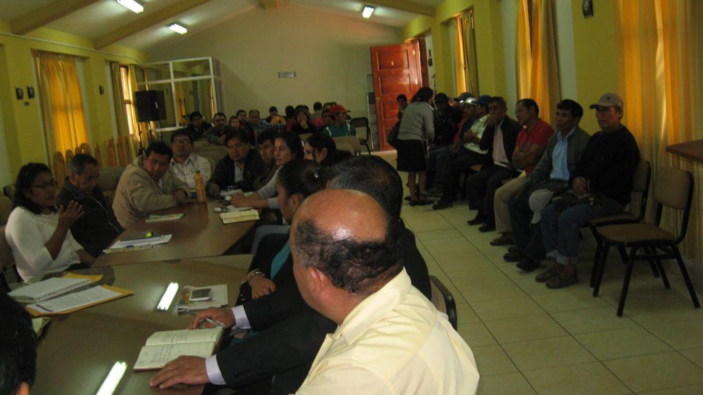 reunion del copale contaminacion de agua por minera shahuindo 4
