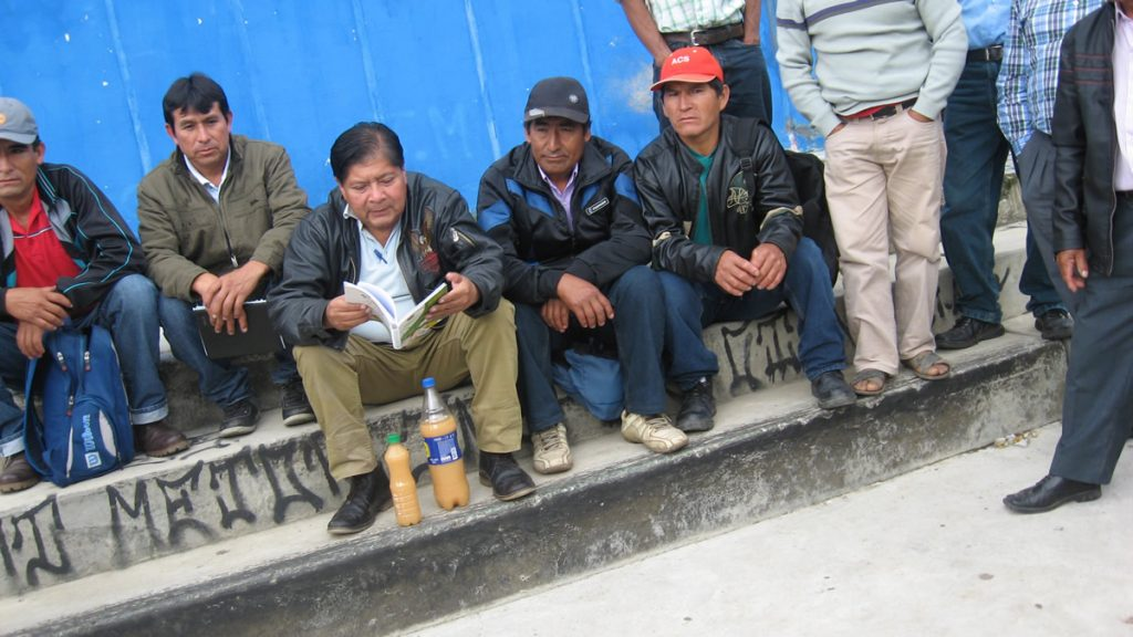 reunion del copale contaminacion de agua por minera shahuindo 7