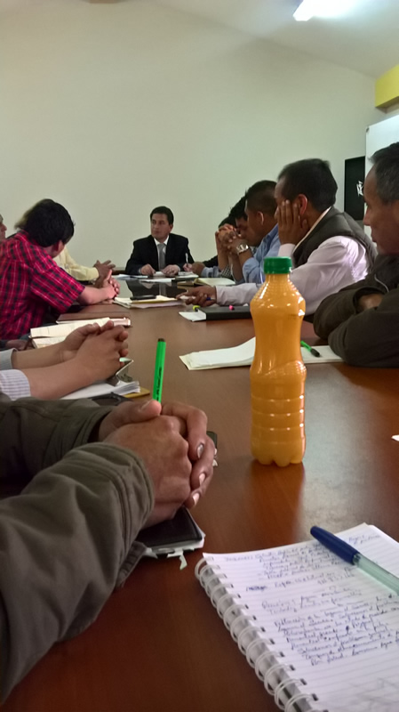 reunion del copale contaminacion de agua por minera shahuindo 8