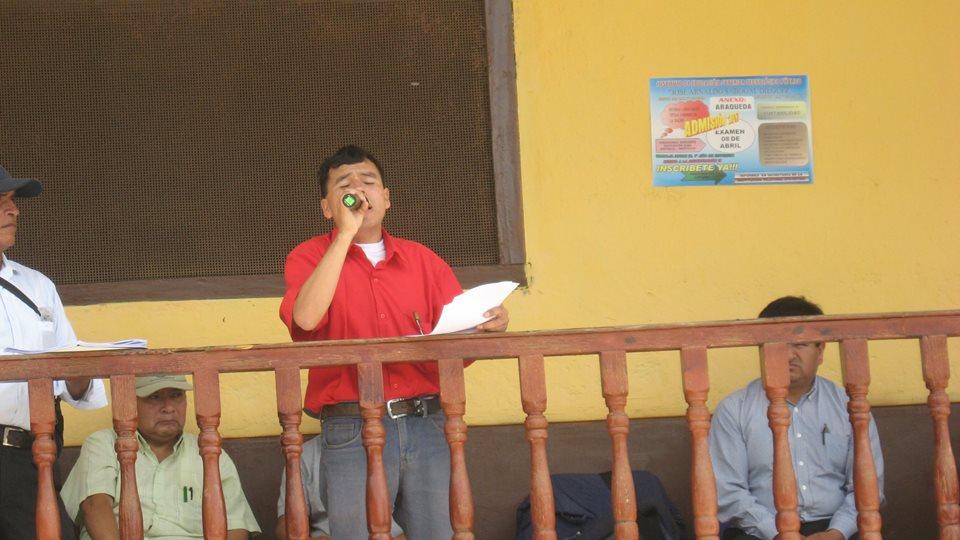 Consejero Regional, solicitando la caducidad definitiva del proyecto cerro el plomo por abandono